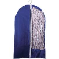 Чехол для одежды подвесной GCN-60*100, нетканка, размер: 60*100см, синий арт.312105