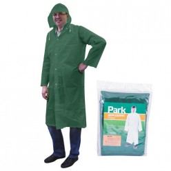 Дождевик-плащ RC-70, размер L (130x140см), зеленый, материал: ПЕВА арт.999107