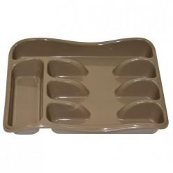 Лоток для столовых приборов (капучино) 060119 Виолет
