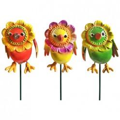 Штекер садовый Птичка счастья  AR2010-4 арт.002916