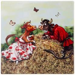Подставка под горячее коллекция Love story 16*16 см 229-508