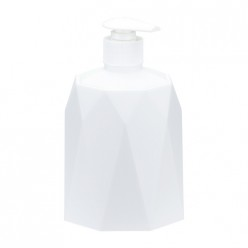 Диспенсер для мыла ПРИЗМА белый М2244