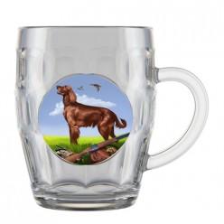 Кружка для пива 500 мл. арт.1002/1-Д (Охота) Подарочн.упа-вка
