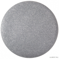 Подстановочная салфетка Феерия серебро двухслойная д=33 см 771-328