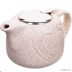 28681-3 Заварочный чайник керамика БЕЖЕВЫЙ 750 мл LR (х24) MAYER & BOCH