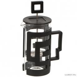 Чайник завар 350мл с мет. Ситечком, стекло PU091120 I.K (354904)