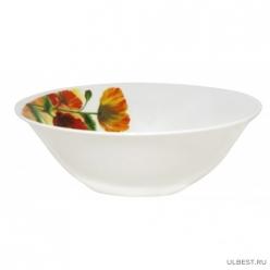Миска суповая Разноцветные Маки 18 см 600 мл арт.MFK20238