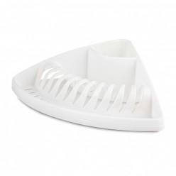 Сушилка для посуды угловая (белый) (уп.6) М8378