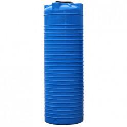 Емкость вертикальная VERT 1000 голубая