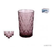 Набор стаканов 1/6 350мл., Тебриз фиолетовый GB2604D0912LJ