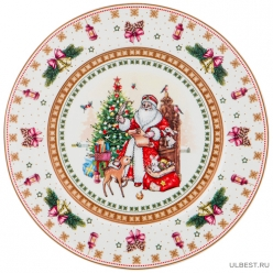 Тарелка Christmas collection диаметр=21 см высота=1,6 см 586-451