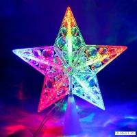 Светодиодная звезда KOC_STAR10LED_RGB КОСМОС (мультиколор, 16,5см)