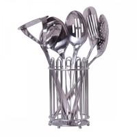 Набор кухонных принадлежностей 7 предметов из нержавеющей стали (5232)