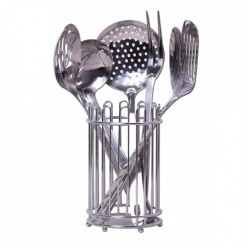 Набор кухонных принадлежностей 7 предметов из нержавеющей стали (5233)