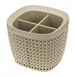 Сушилка для столовых приборов ПИРУЛА латте М1168
