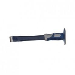 Зубило плоское КОБАЛЬТ 25х300 мм с протектором (249-570)