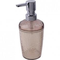 Диспенсер для жидкого мыла Natural stone черный прозрачный, 350 мл BQ1215