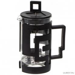 Чайник завар 600мл с мет. Ситечком, стекло PU091121 I.K (354905)