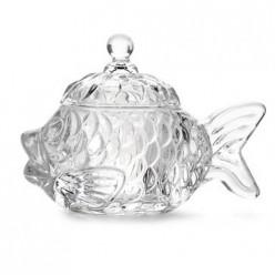 Икорница-рыбка круглая BRIVERRE 14х7.5см арт.BR1508