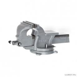 Тиски слес.повор.КОБАЛЬТ стальные, ширина губок 150 мм, захват 150 мм, 14.5 кг, наковальня(248-986)
