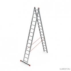 Лестница индустриального типа 2*14