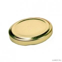 Крышки III-100 лак золотая К (260шт.) г.Елабуга 1шт.- 4,75руб