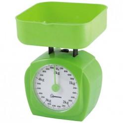 Весы кухонные механические HOMESTAR HS-3005М, 5 кг, цвет зеленый арт.004905