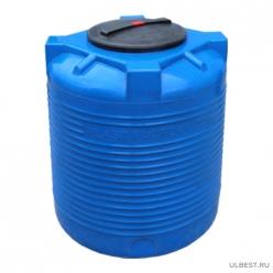 Емкость вертикальная VERT 300 голубая