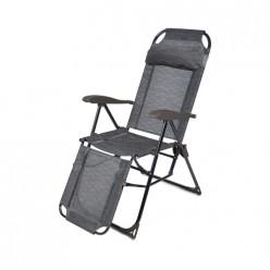 Кресло -шезлонг с подножкой и полкой КШ3 НИКА