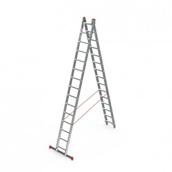 Лестница индустриального типа 2*9
