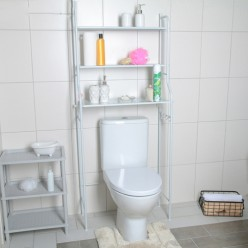 Стеллаж над стиральной машинкой 65х25х152, цвет белый арт.4693316 г.Екатеринбург