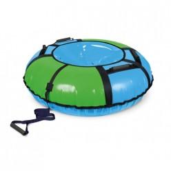 Тюбинг Игрушка Классик ТБ1К-110/ГЗ2 голубой-зеленый