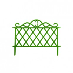 Заборчик садовый (1шт) (зеленый, коричневый, бежевый) С7041 ПБ г.Москва