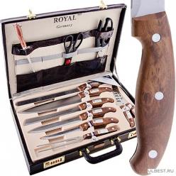 701 Набор ножей 25пр в дипломате (х5) MAYER & BOCH