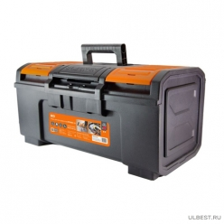 Ящик для инструм.ПРОФИ-19,48х27х24 см, усилен.,замок-автомат,лоток,органайз, «Рубин» TDM SQ1032-0205