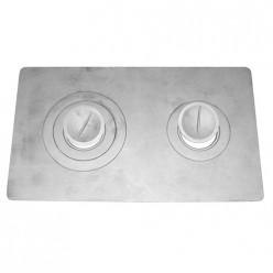Плита двухконфорная П2-3 г. Балезино(710*410 мм)
