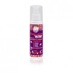 Спрей-лосьон ULTRA от летающих насекомых,защита более 4ч.,репел.,125мл/24 HELP 80511