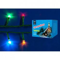 Гирлянда светодиодная UDL-S0500-050/DGA MULTI IP20 MIN (50 ламп, 5м, разноцветная) 2389