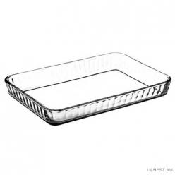 Посуда для СВЧ  лоток прямоугольный б/крышки 400*270 мм 3,5 л арт.59204