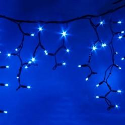 Бахрома светодиодна  с эффектом мерцан ULD-B3010-200/TBK BLUE IP67 (200 светодиодов, 3м, синий) 3932