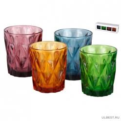Набор стаканов 1/4 микс 300мл 4762