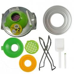 Набор для консервирования, 7 предметов (в пленке) с захватом арт.007021