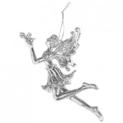 Декоративная подвеска Ангел коллекция silver dream14*8 см мал.уп=72 шт 858-163