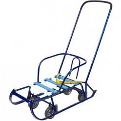 Санки дет.Тимка 6 универсал игрушка (Т6У/С2 синий лак)
