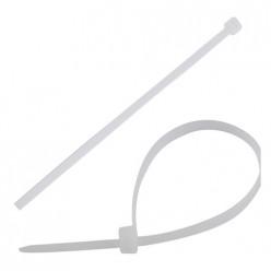 Хомут-стяжка нейлон, 100шт, 100х2,5мм, белый арт.007576