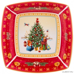 Салатник Christmas collection 15,5х15,5х5 см. 85-1620