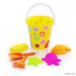 Набор детский для игры с песком Сласть (уп.16) М8046