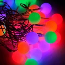 Гирлянда КОСМОС 30LED BigBALL_RGB (шарики 2,5см, 4,4м, мультиколор)