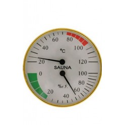 Банная станция СББ-2-1 Гигрометр+термометр 2в1 дерево (74)