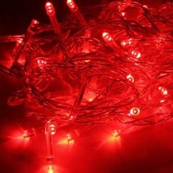 Гирлянда КОСМОС 80LED_R (красная, 8,8м, 8 режимов мигания)